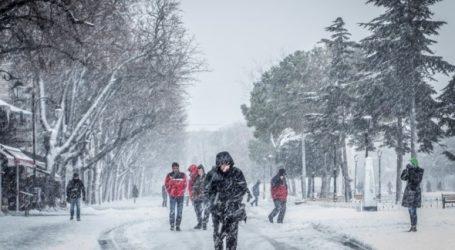 Son yılların en çetin kışı