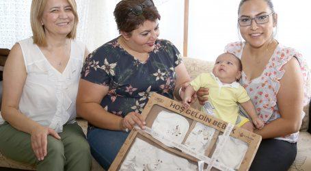 Çankaya 'dan 2018 yılında 1053 bebeğe 'hoş geldin'paketi