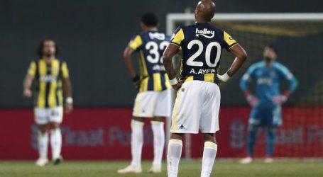 Fenerbahçe de değişen bir şey yok