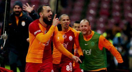 Galatasaray son saniyede güldü:1-0