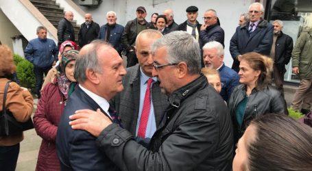 CHP-İYİ PARTİ  ARHAVİ'DE EL ELE GÖVDE GÖSTERİSİ YAPTI
