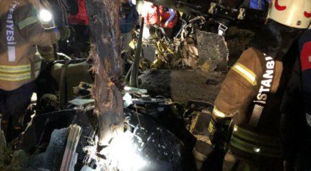 İstanbul da  Helikopter düştü 4 ASKERİMİZ ŞEHİT oldu