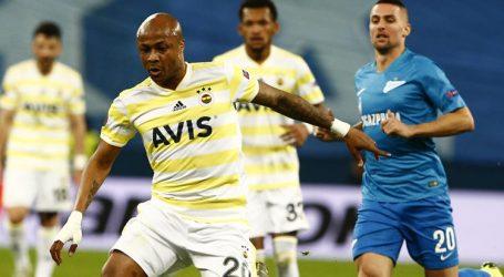 Fenerbahçe Zenit' e elendi:3-1
