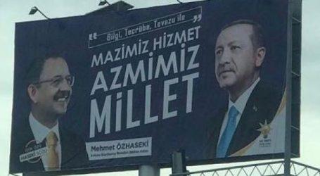 """""""Bu afişlerle insanları kandıramayacaklar"""""""