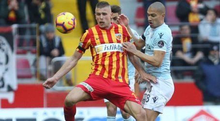 Başakşehir Kayseri'ye takıldı:1-1