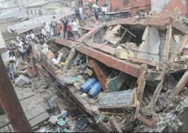 Nijerya 'da okul çöktü