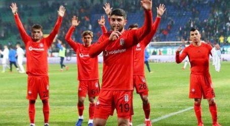 Beşiktaş Rize'de gol olup yağdı:7-2