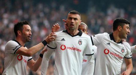 Beşiktaş liderin ensesinde:4-1