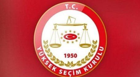 YSK, AKP' nin  itirazını reddetti