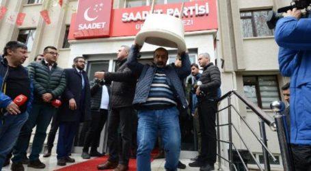 Saadet Partisi Genel Merkezi  icra ile tahliye edildi