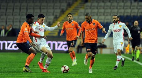 Başakşehir galibiyete hasret:1-1