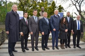 Romanya Dışişleri eski Bakanı Nicolae Titulescu Anıtı açılışı 1