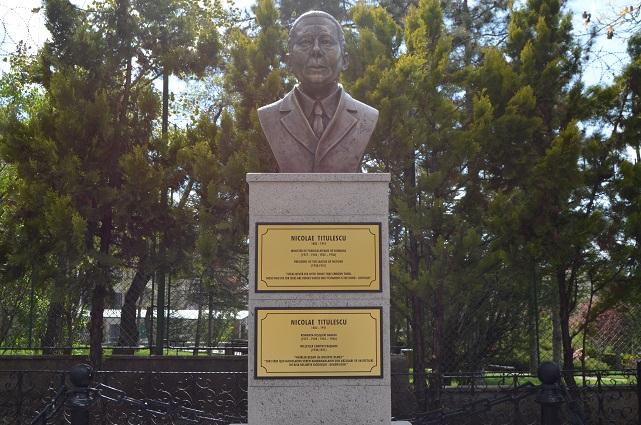 Romanya Dışişleri eski Bakanı Nicolae Titulescu Anıtı