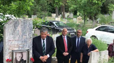 Mustafa Ekmekçi mezarı başında anıldı