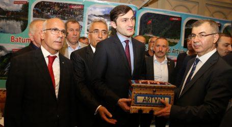 HOPA TSO ÜYELERİYLE BATUM'DA TURİZM FUARINA KATILDI