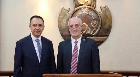 Acara Sağlık Bakanı, Rize Valisini ziyaret etti
