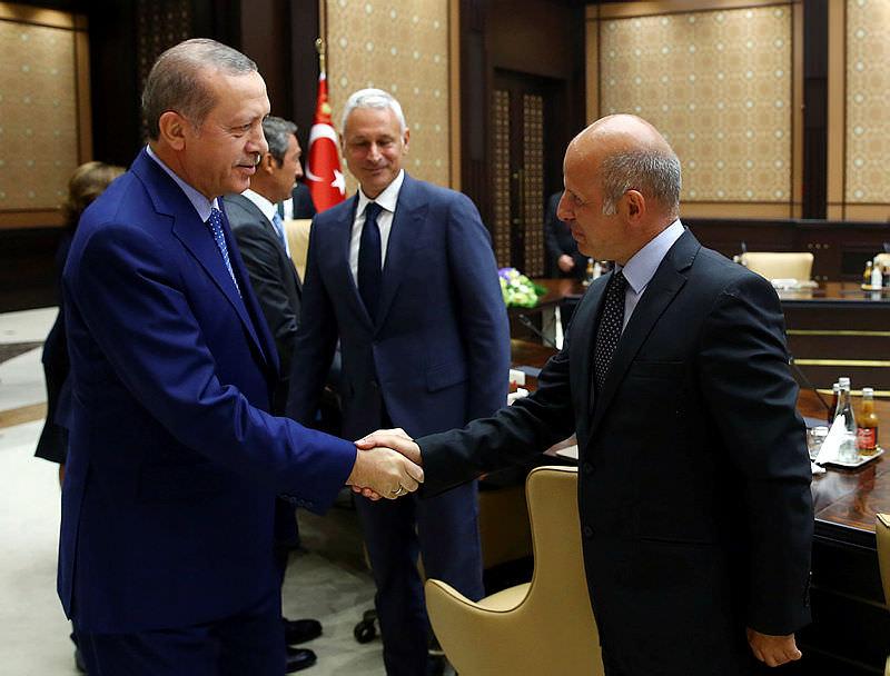 Cumhurbaskani Erdogan'in kabulü