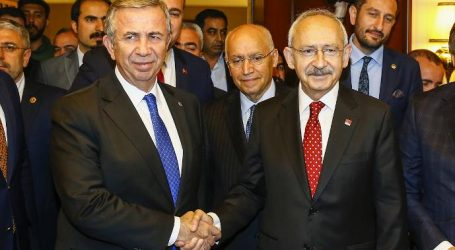 Kılıçdaroğlu'ndan YAVAŞ' a tebrik ziyareti