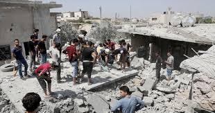 Suriye İdlib de ATEŞ KESTİ