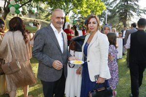 Pakistan Mango ve Biryani Festivalinde,Pakistan Der.Başk.Burhan Kayatürk