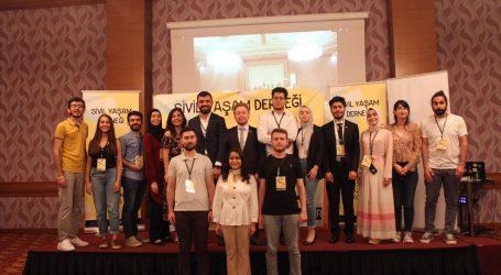 (SİYAMDER) 150 gönüllüsü ile birlikte Konya'da toplandı