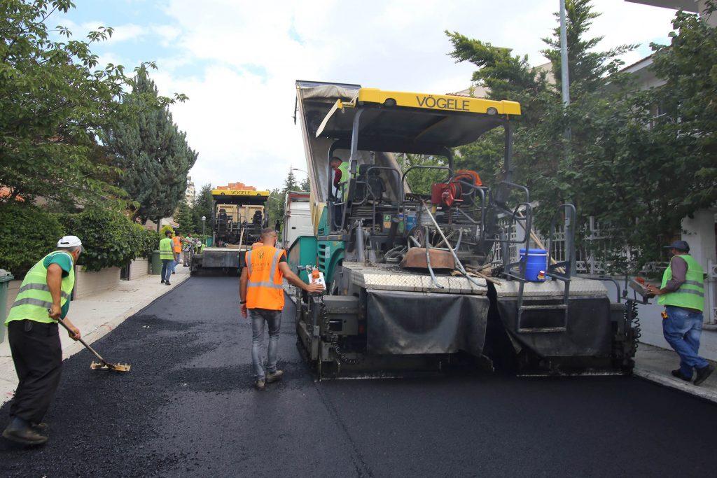 Çankaya Belediyesi_Asfalt Çalışmaları (1)