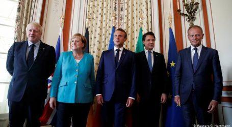 G7 liderleri zirve için Biarritz'de