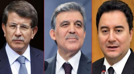 Gül,Davutoğlu ve Babacan'a AKP den VETO