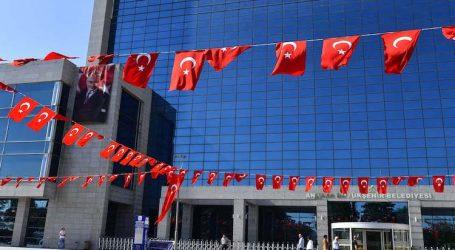 Ankara' da yer gök KIRMIZI BEYAZ, Tebrikler Mansur YAVAŞ