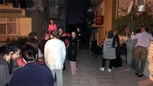 Ankara' da  deprem paniği !