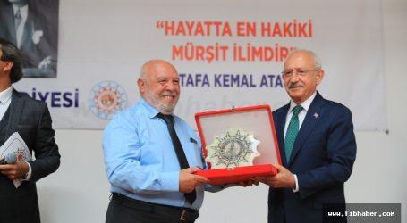 Hacı Bektaş Veli Dostluk ve Barış Ödülü MUSA EROĞLU' nun