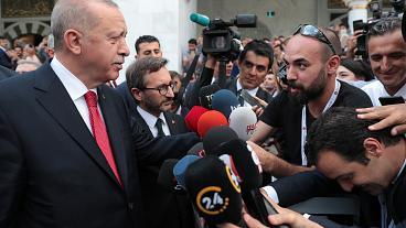 Erdoğan:Size 3 hafta daha süre…..
