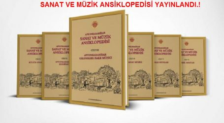 """AFYONKARAHİSAR SANAT VE MÜZİK ANSİKLOPEDİSİ"" YAYINLADI."