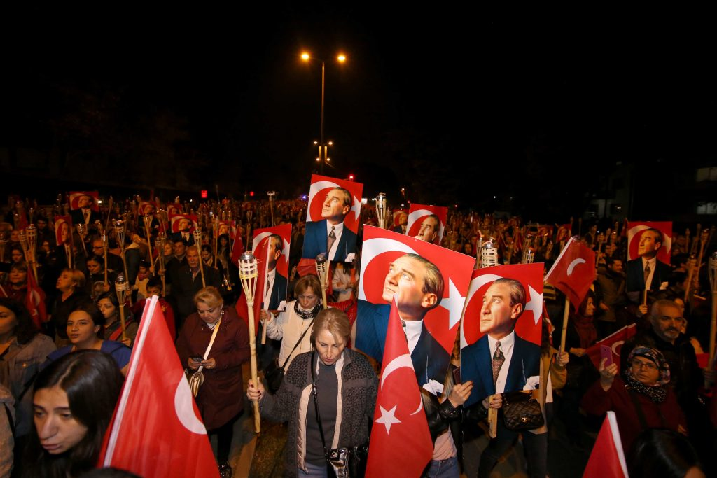 Cumhuriyet Kutlaması_Meşaleli Yürüyüş_Arsiv