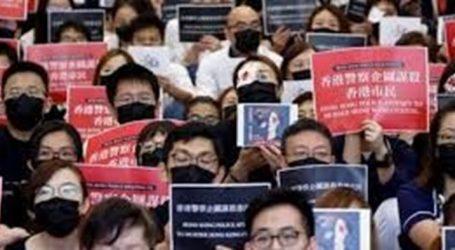 Hong Kong ta gösteriler durmuyor