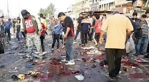 Bağdat ta gösterilerde 74 kişi ödü