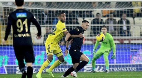 Fenerbahçe ,Malatya' ya  takıldı:0-0