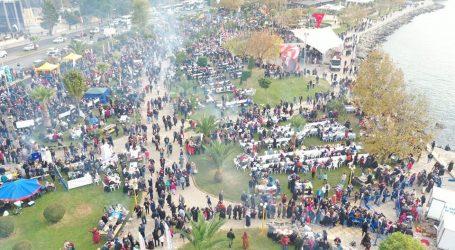 HAMSİ FESTİVALİ'NE YOĞUN İLGİ