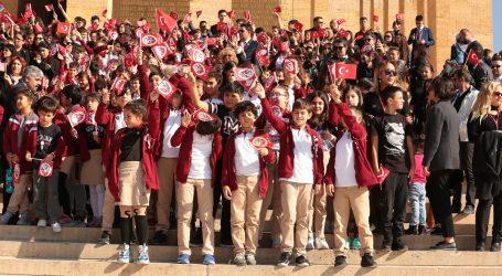 Mektebim, 4 Bin Öğrencisiyle Anıtkabir'de…