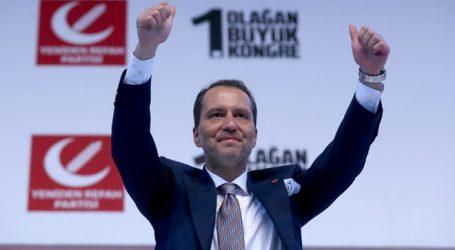 Yeniden Refah Partisi ilk Genel Kurulunu yaptı