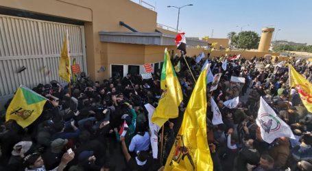 Bağdat 'ta ABD elçiliği İŞGAL edldi