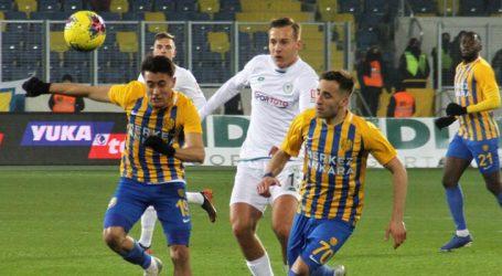 Ankaragücü' ne son saniye şoku:0-1
