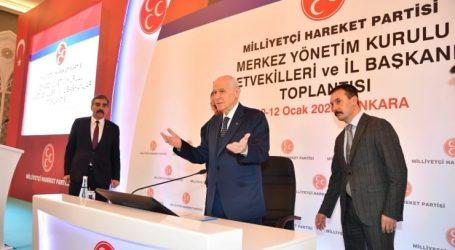 """Bahçeli 'nin hedefinde yine"""" Kılıçdaroğlu """"vardı"""