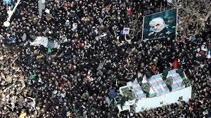 Tahran'daki Cenaze töreninde İzdiham dan 50 kişi öldü