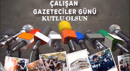 ARTVİN'DE 10 OCAK ÇALIŞAN GAZETECİLER GÜNÜ MESAJLARI YAYINLANDI