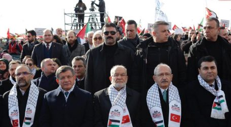 Kudüs Mitinginde AKP yoktu !