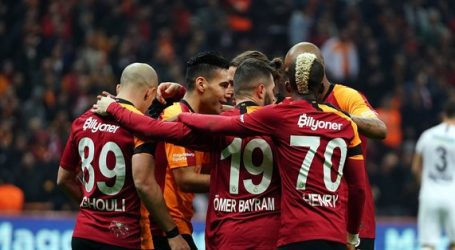 Galatasaray: 3-Gençlerbirliği:0