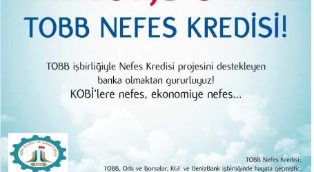 KOBİ lere NEFES KREDİSİ !
