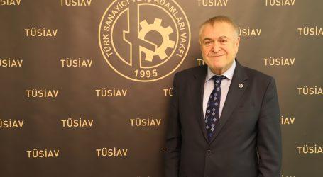 """TÜSİAV  Bayram Mesajında""""Sağlık, huzur ve mutluluk"""" diledi"""