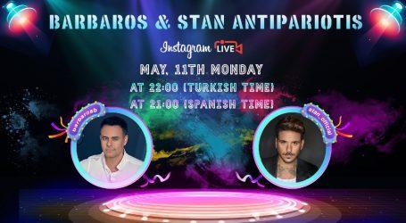 Barbaros'un  konuğu: STAN ANTIPARIOTIS
